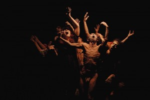 Summer Intensive JINEN Butoh workshop, conducted by Atsushi